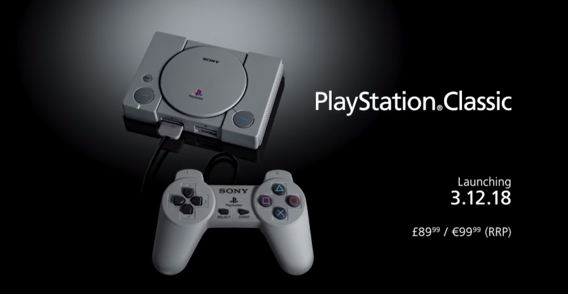 Sony Reveals The Full List of Games For It's Upcoming ClassicConsole