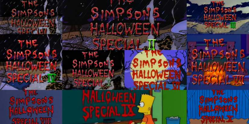 Top 15 Treehouse of Horror parts (I-X)